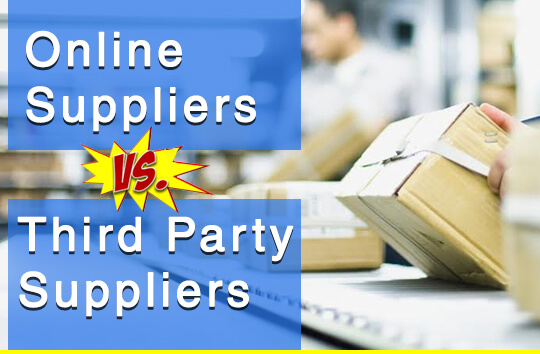 Online Suppliers vs. Third Party Suppliers