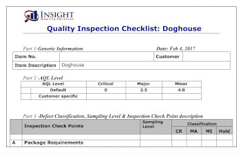 Blog: Quality Inspection Checklists: How to Create Them