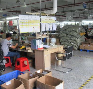 A factory floor