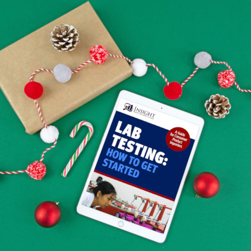 Lab testing guide on iPad during holidays